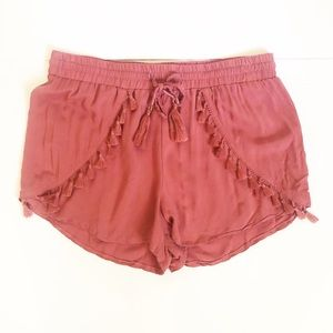 Clothing, Shoes & Accessories Atmosphere Denim Polka Dot Shorts Size 8 Shorts